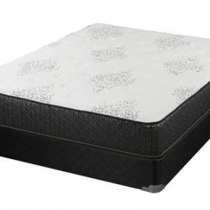 Freya 11.5″ Eastern King Mattress White and Black