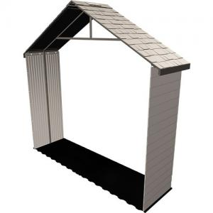 Lifetime 30 in. Extension Kit for 11 ft. Storage Shed No Windows in Desert Sand