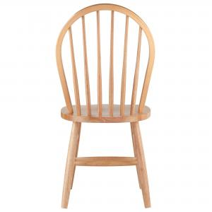 Winsome Wood Windsor Chairs, 2-PC, RTA, Natural Finish