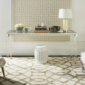 Safavieh Couture Charleston Modern Glam Acrylic Console Table