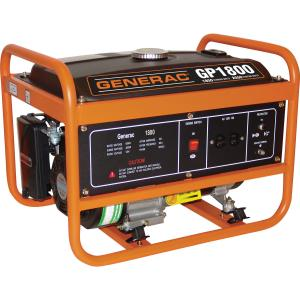 Generac 5981- 1800-Watt Gasoline Powered Portable Generator, 49/CSA