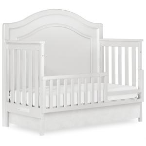 Evolur Signature Glam 5 In 1 Convertible Crib, Sliver Pearl Shimmer