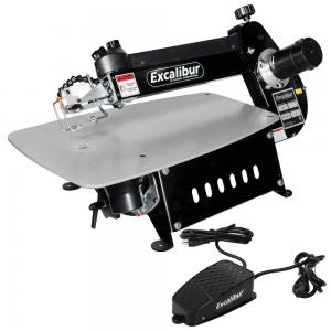 Excalibur 21-Inch Tilting Head Scroll Saw with Foot Switch, EX-21
