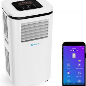 Alexa-Enabled RolliCool 310-20 12,000 BTU Portable Air Conditioner with Mobile App