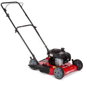 Hyper Tough 20″ Side Discharge Push Mower with Briggs and Stratton Engine