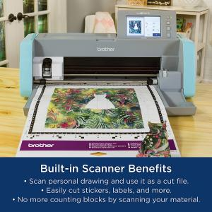 Brother ScanNCut DX SDX125E Electronic Cutting Machine with Built-in Scanner