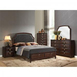 Acme Furniture Lancaster Espresso Dresser with Eight Drawers