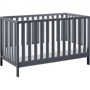 Storkcraft Sunset 4 in 1 Convertible Crib Gray