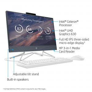 HP 22 All-in-one Celeron Blue