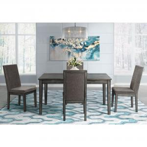 Picket House Furnishings Austin 5-Piece Dining Set-Table & Four Chairs