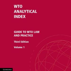 Wto Analytical Index 2 Volume Set : Guide to Wto Law and Practice (Edition 3) (Hardcover)