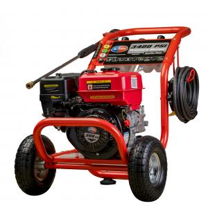 All Power 3400 PSI 2.6 GPM Gas Pressure Washer for Vehicles and Outdoor Cleaning, APW5118