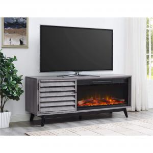 Ameriwood Home Vaughn Fireplace TV Console for TVs up to 60″ Wide Multiple Colors