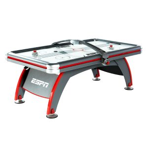 """ESPN 84"""" Fast Line Air Powered Hockey Table, Accessories Included, Gray"""