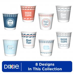 Dixie Paper Bath Cups, 3 oz, 200 Count