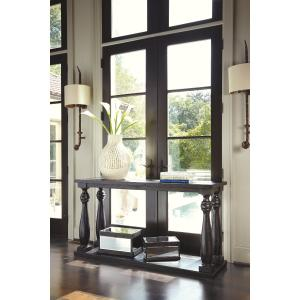 Signature Design by Ashley Mallacar Sofa Table Black
