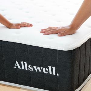 The Allswell 10 Inch Bed in a Box Hybrid Mattress – Queen