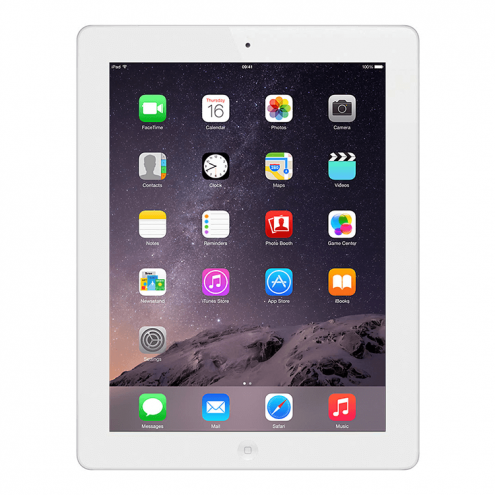 Refurbished iPad 4 16GB White Retina Display WiFi MD513LL/A