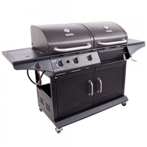 Char-Broil 1010 Deluxe LP Gas & Charcoal Cabinet Grill