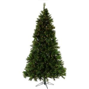 Fraser Hill Farm 9-Ft. Canyon Pine Artificial Christmas Tree with Smart String Lighting