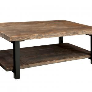 Pomona Large Coffee Table, Rustic Natural
