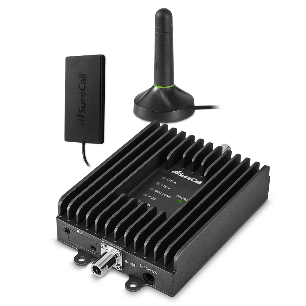 SureCall SC-FUSION2GO3 3.0 In-Vehicle Cell Phone Signal-Booster Kit