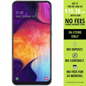 Straight Talk SAMSUNG Galaxy A50, 64GB Black – Prepaid Smartphone