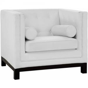 Modway Imperial Tufted Leather Armchair, Multiple Colors