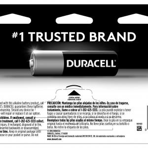 Duracell Coppertop AAA Battery, Long Lasting Triple A Batteries, 16 Pack