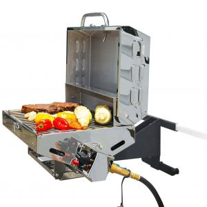 Camco 57305 Olympian 5500 Stainless Steel Portable Gas Grill – For RV and Outdoor Use