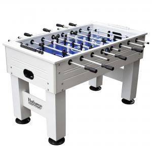 Hathaway Highlander 55-in Outdoor Foosball Table with Waterproof Surface, Anti-Rust Rods, Ergonomic Handles, and Analog Scoring