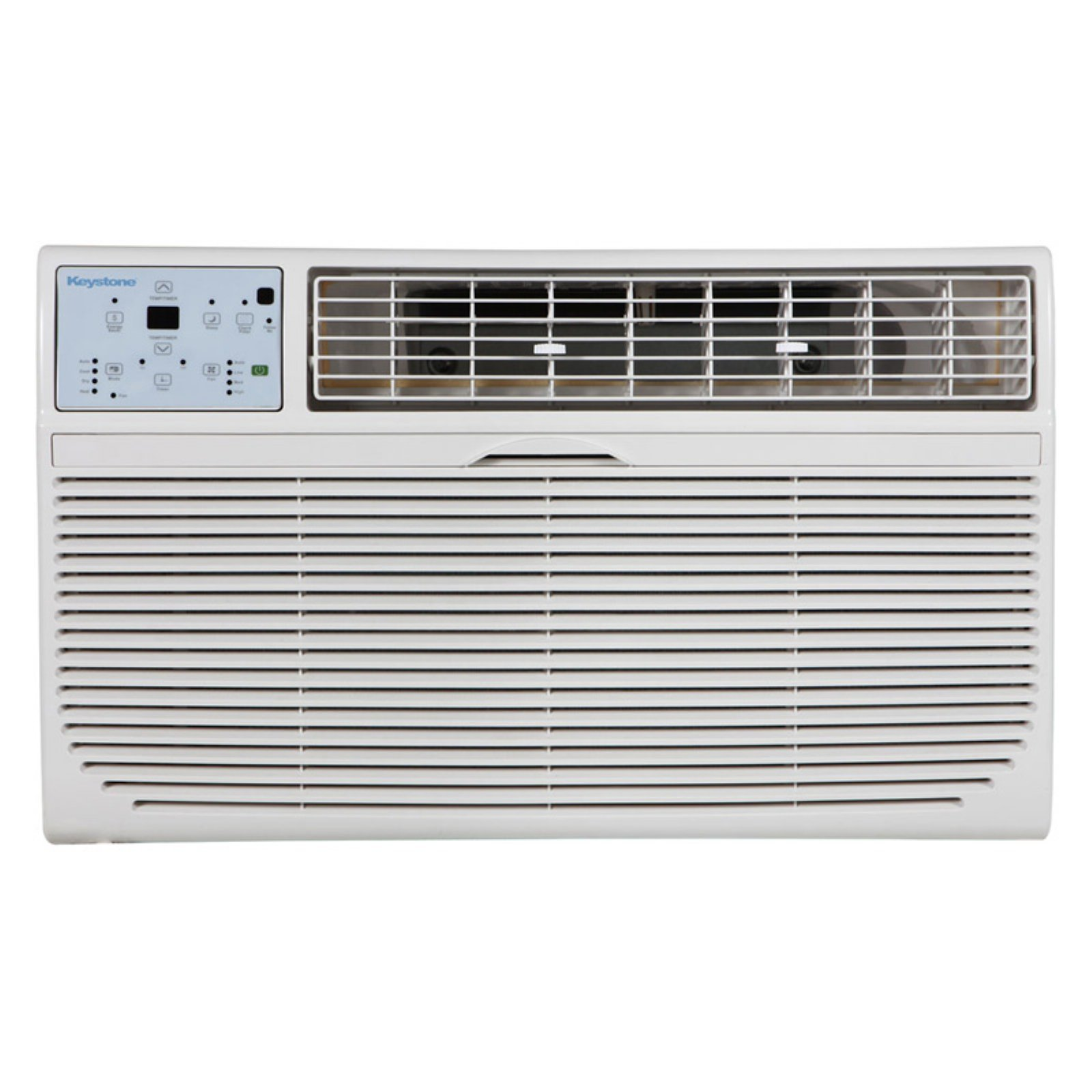 "Keystone KSTAT12-2C 12,000 BTU 230V Through-the-Wall Air Conditioner with ""Follow Me"" LCD Remote Control"