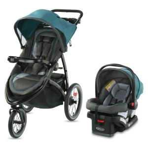 Graco FastAction Jogger LX Travel System, Seaton
