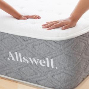 The Allswell Luxe Hybrid 12 Inch Bed in a Box Hybrid Mattress – Queen