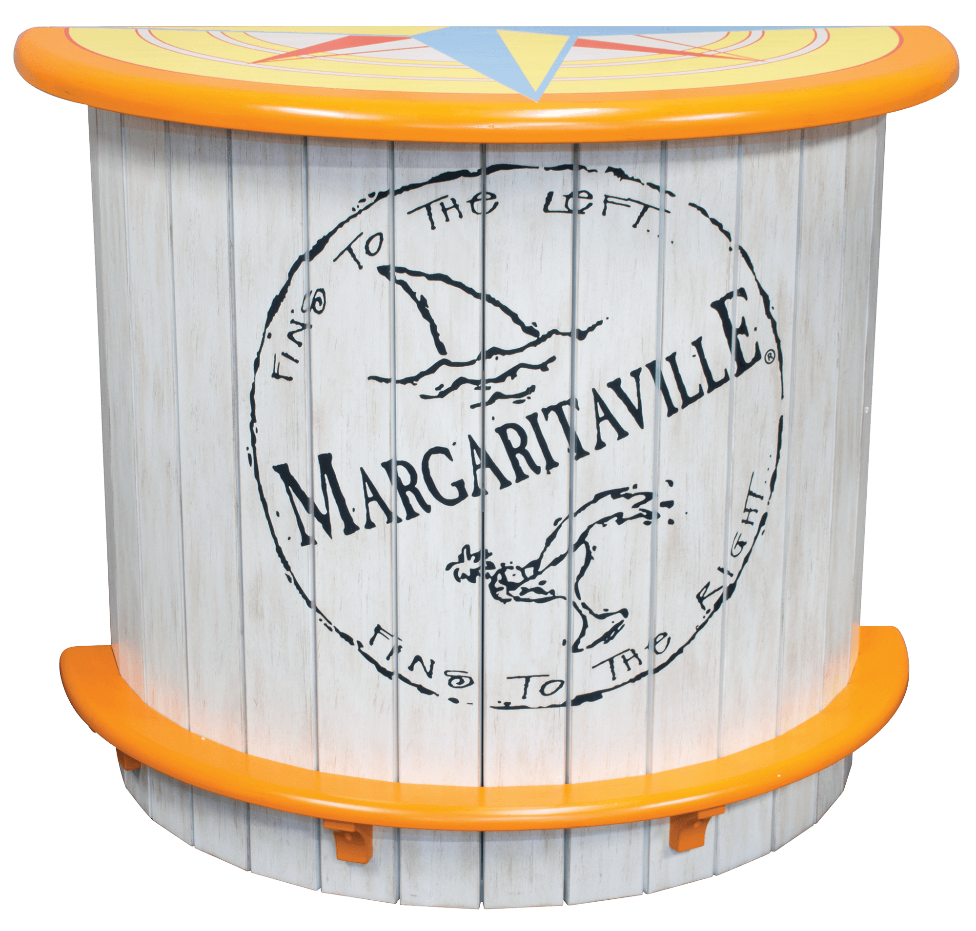 Margaritaville Half Moon Bar – Fins to the Left