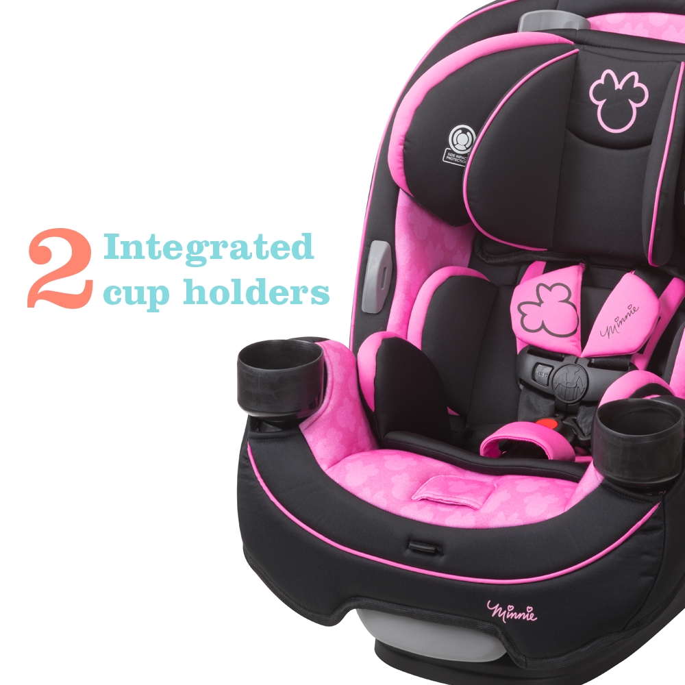 Disney Baby Grow and Go™ All-in-1 Convertible Car Seat, Simply Minnie