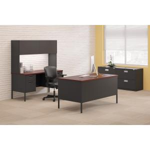 """HON, Metro Classic Double Credenza, 60""""W – 4-Drawer, 1 Each"""