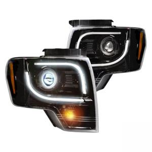 RECON 264190BKC Ford F150 & RAPTOR For 09-14 PROJECTOR HEADLIGHTS