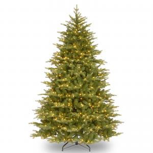 National Tree Nordic Spruce(R) Medium Tree with Clear Lights-Size:9 ftt