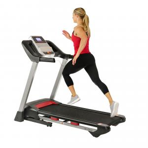Sunny Health & Fitness Incline Treadmill with Bluetooth Speakers and USB Charging Function – SF-T7917