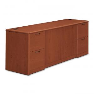 10700 Series Credenza with Doors & File Pedestals – 4-Drawer