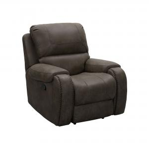 Abbyson Dayton Fabric Recliner, Brown