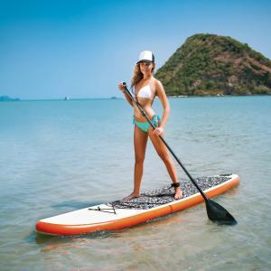 Blue Wave Sports Stingray 10-ft Inflatable Stand Up Paddleboard w/ Paddle & Hand Pump