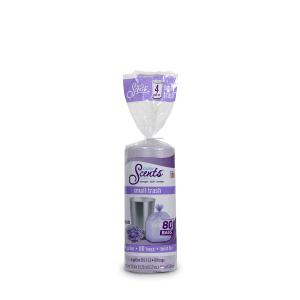 Color Scents Cs 4gal 80ct Twist Tie .35mil Lavender