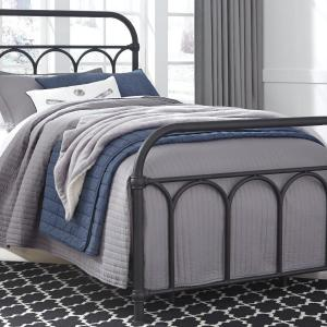 Signature Design by Ashley Nashburg Black Twin Metal Bed
