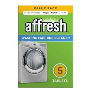 Affresh Washing Machine Cleaner, 5 Count Dissolving Tablets