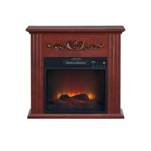 Bold Flame 28 inch Electric Fireplace Heater, Chestnut