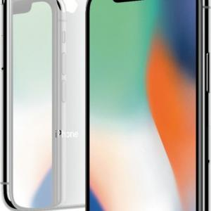 Apple iPhone X 64GB Silver Fully Unlocked A Grade Refurbished Smartphone