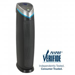 GermGuardian Air Purifier with True HEPA Filter for Home and Pets, UV-C Sanitizer, AC5250PT 28-Inch Tower