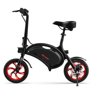 Jetson Bolt Folding Electric Scooter with Twist Throttle, Cruise Control, Up to 15.5 mph, Black